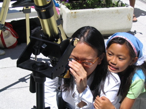 Solar observing at a SFSA event