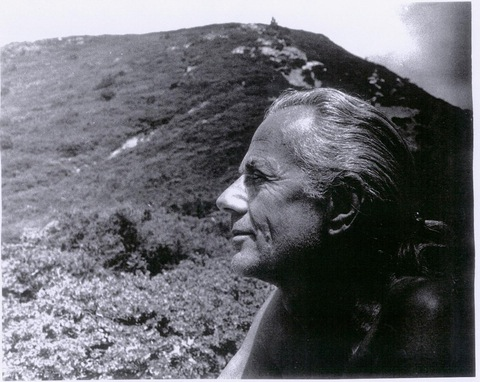 John Dobson on Mount Tamalpais, sometime around 1975.