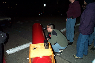 Viewing lunar eclipse through a Dobsonian Telescope