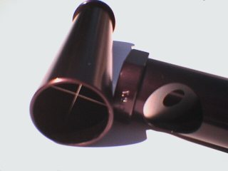 photo of telescope collimation tools